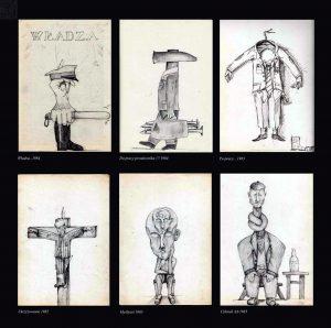 rysunki z szafy -  lata 80. XX w.