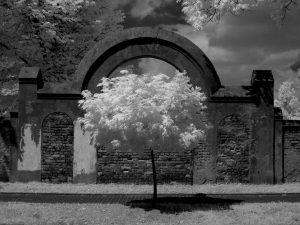brama cmentarza żydowskiego w Łodzi